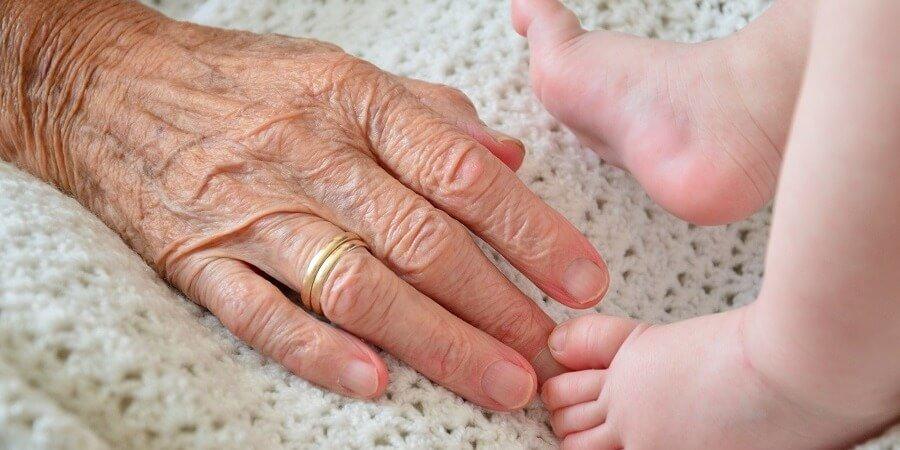 Relación entre abuelos y nietos