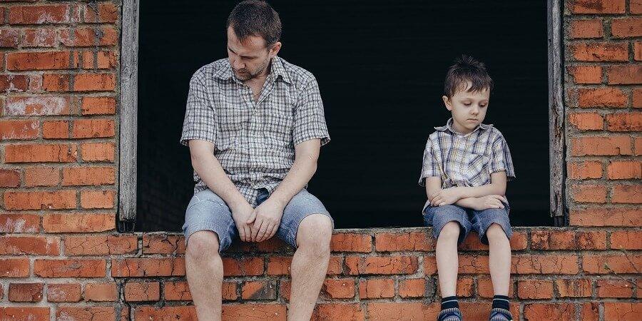 Hijo no quiere ver a su padre